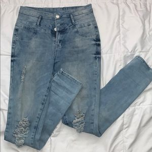 Blue-ish REFUGE Jeans From charlotte russe